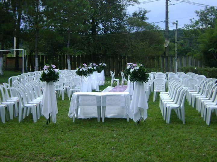 Casamento do jardim