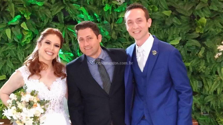 Casal Willian e Juliana