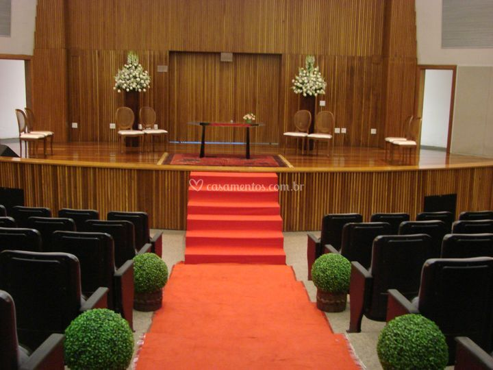 Cerimonia auditório