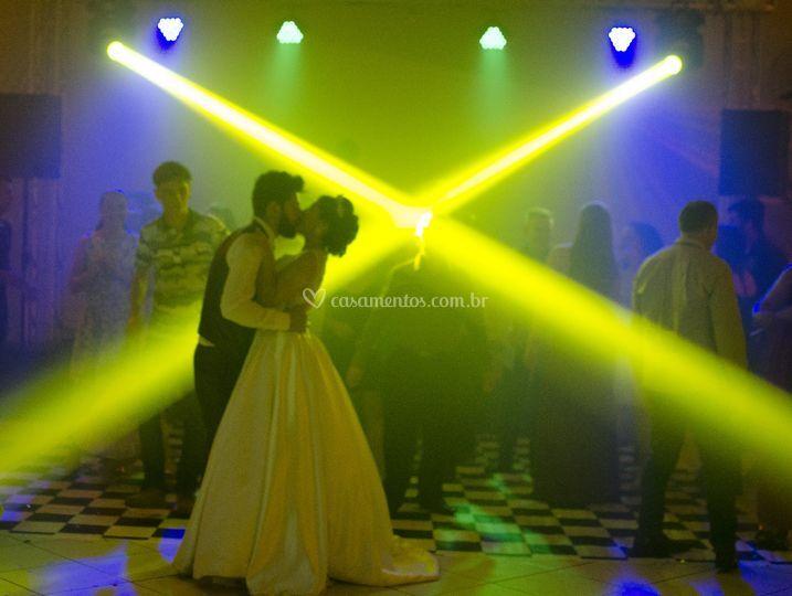 Dança sobre a luz