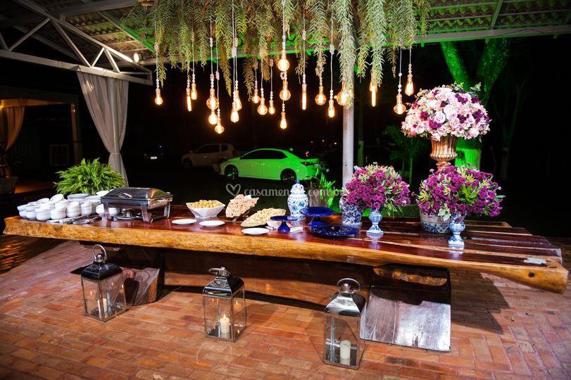 Mesa banquete