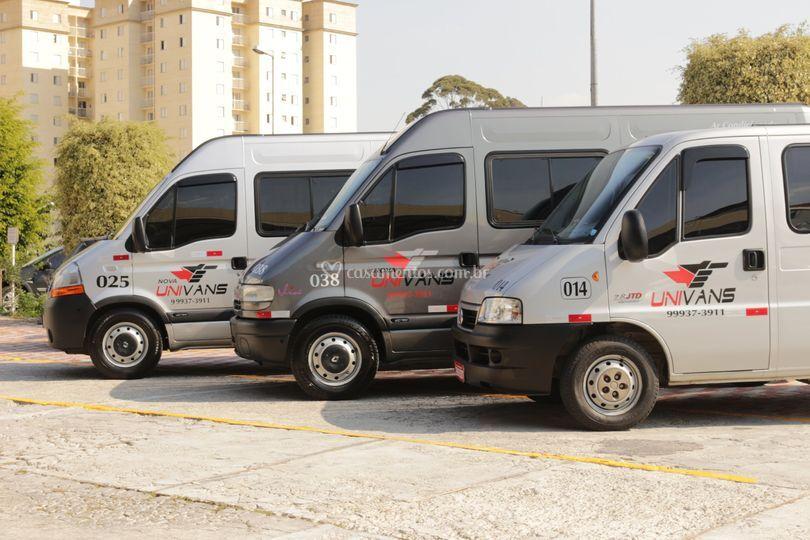 Univans - Transportes para Eventos em Geral