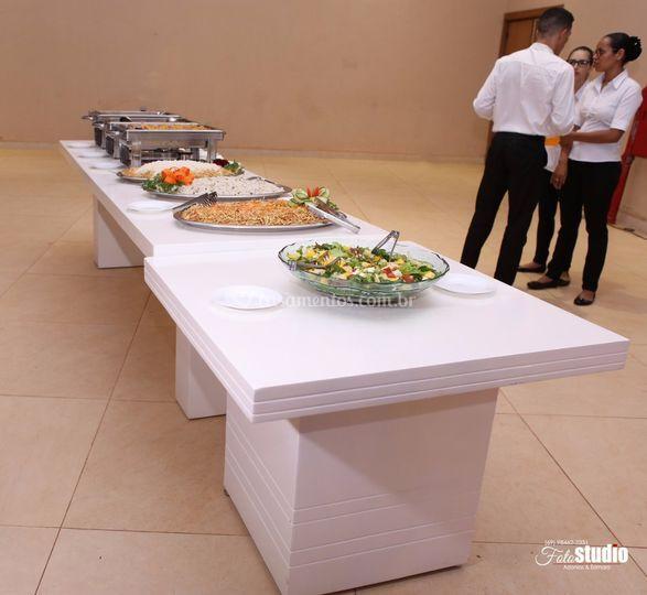 Linha de buffet