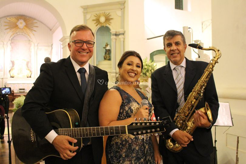 Duo D'Amore com saxofone