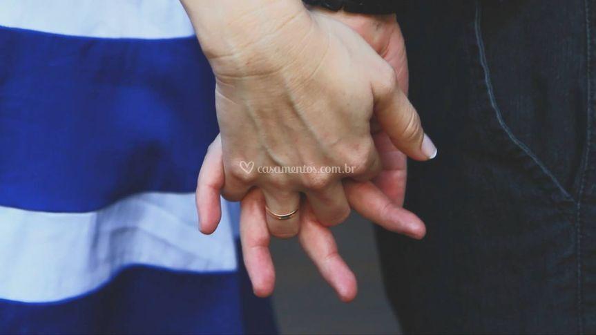 Mãos apaixonadas