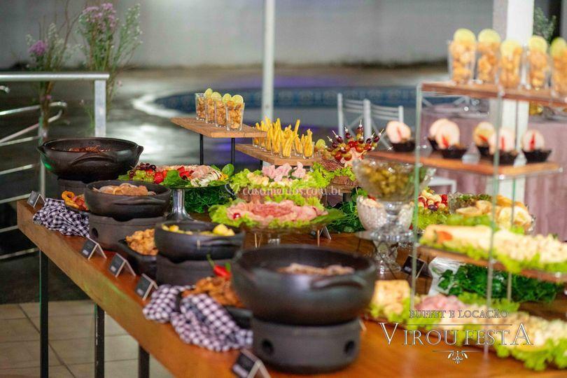 Buffet Virou Festa