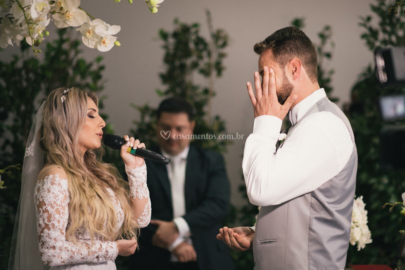 Surpresa da noiva