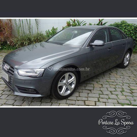 Audi A4 - 2015 - Cinza