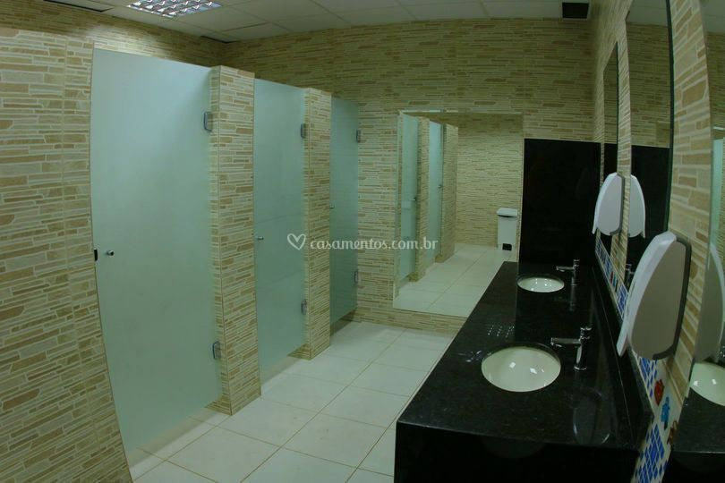 Banheiros com PNE