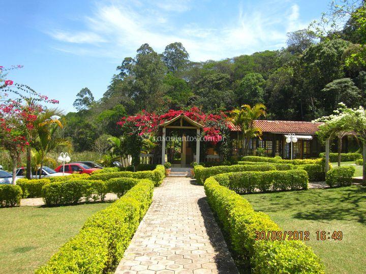 Os jardins do SDA