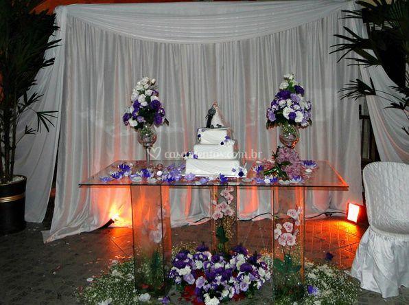 Decoração - Mesa de bolo