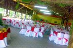 Decora��o do sal�o de eventos de Sitio 2 Amigos