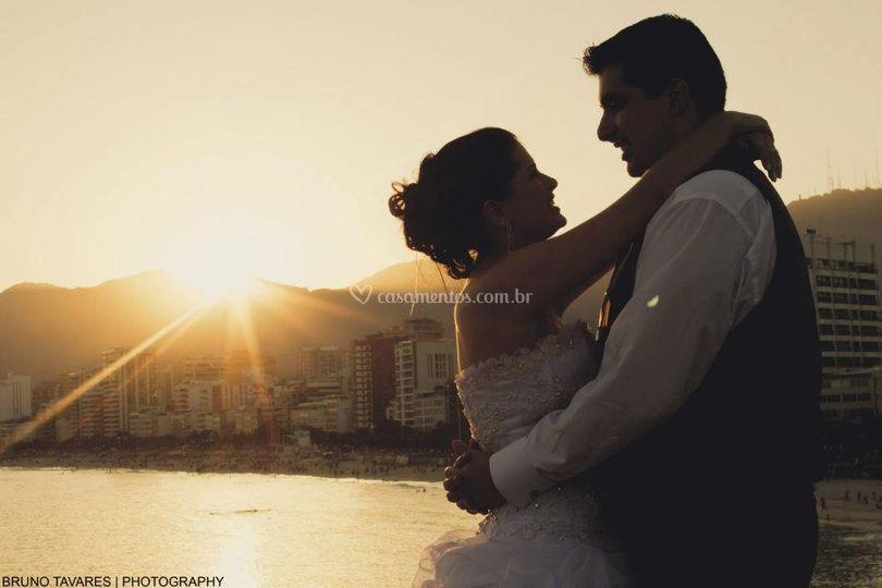 Dedicação aos noivos