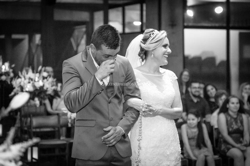 Choro noivo noiva