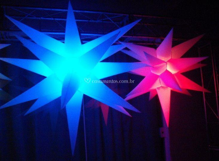 Iluminação para casamentos e festas