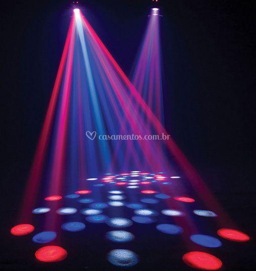 Luzes e efeitos especiais
