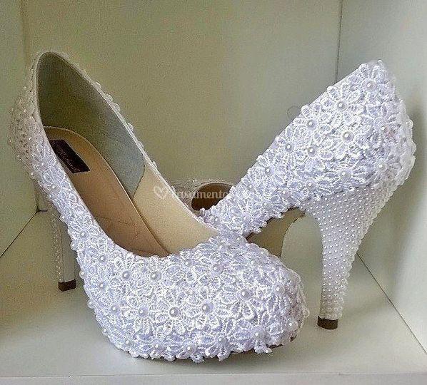 Sapato flores