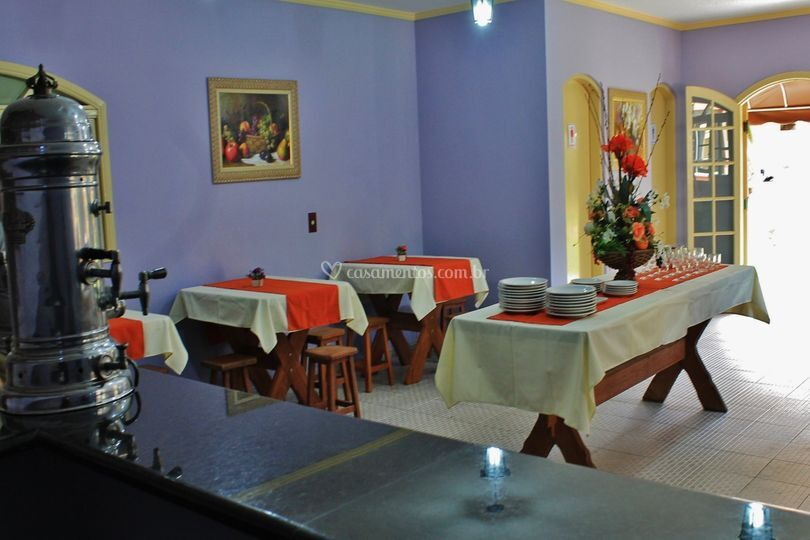 Salão de buffet