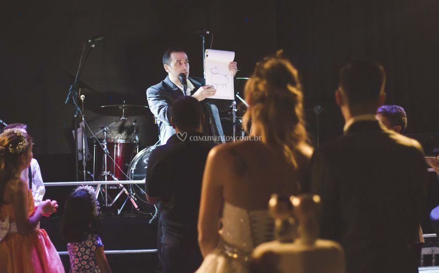 Agradecimento dos noivos