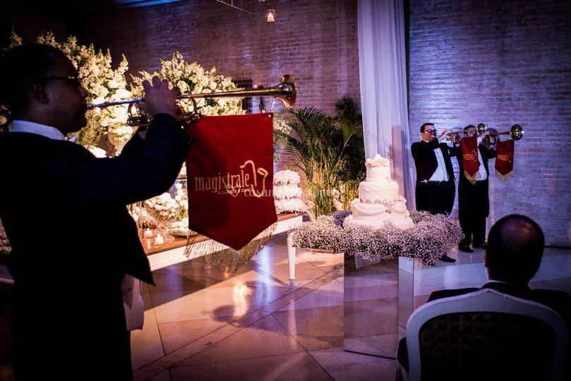 Anúncio da noiva