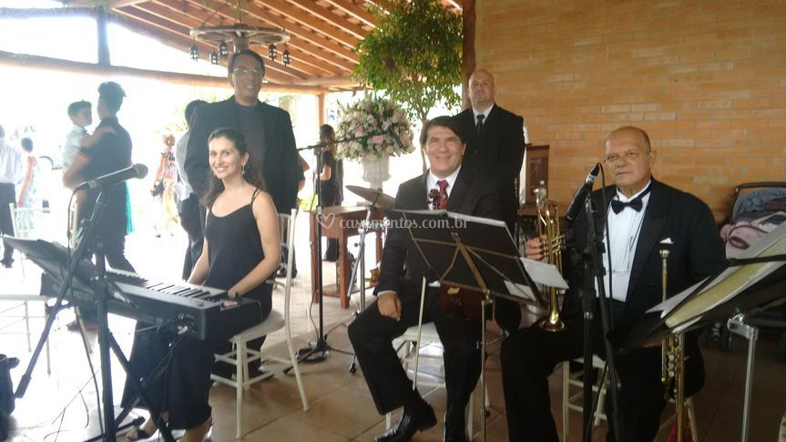 Equipe 5 músicos