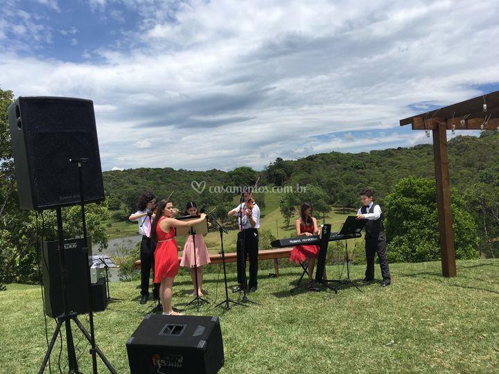 Sonorização para cerimonia
