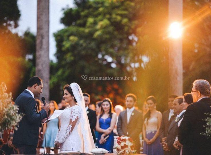 No dia do casamento