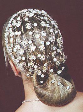 A decoração do cabelo