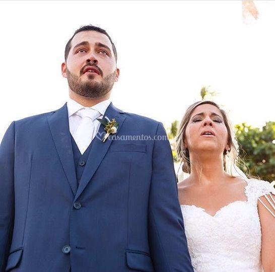 Casamento lindo! Reh e Di