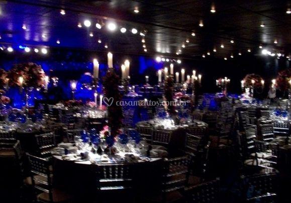Iluminação de evento