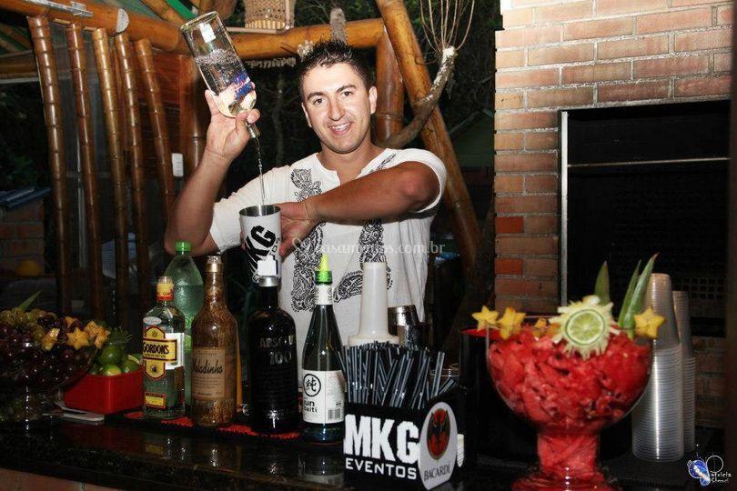 Bartender na Ilha do Mel