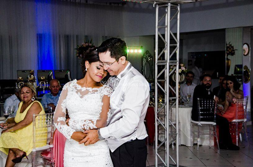Dança do casal.
