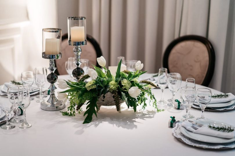 Opção mesa convidados