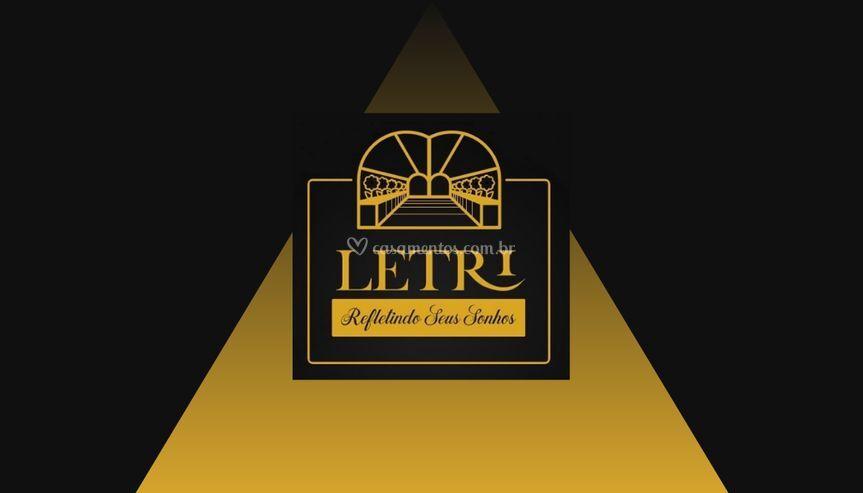 Letril logo cartão