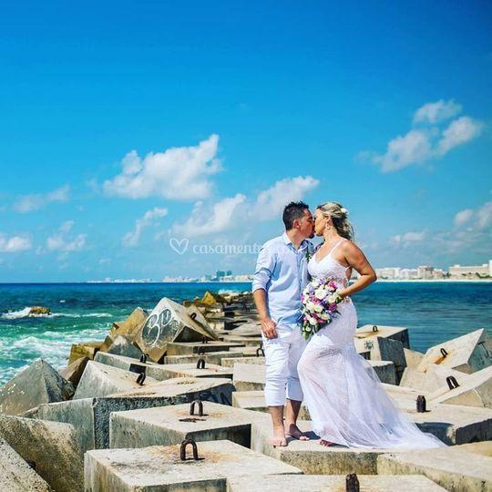 Casamento em Cancún 2019