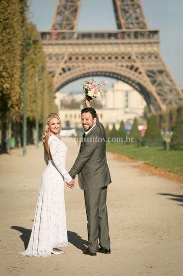 Paris! Casamento em 2018
