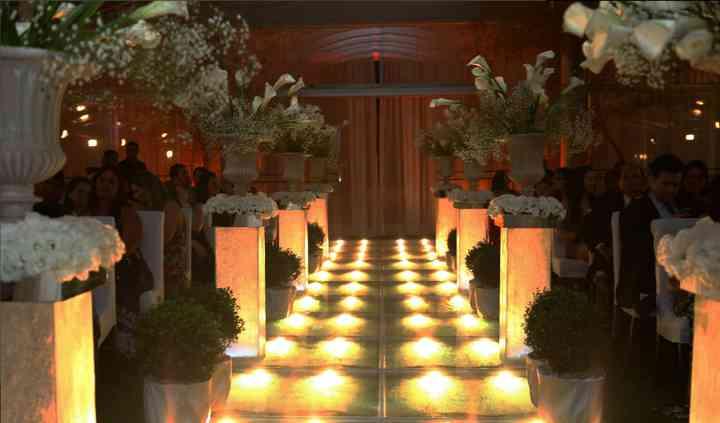 Iluminação especial cerimônia