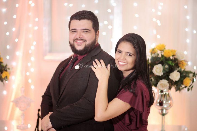 Antonio e Wislla Ferreira