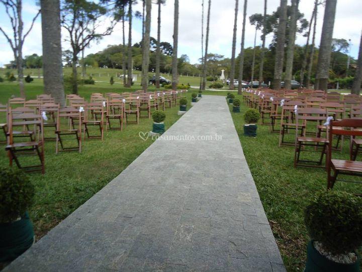 Área para Cerimonia Externa