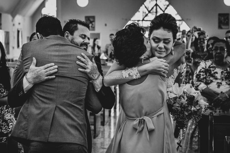 Entrega da noiva