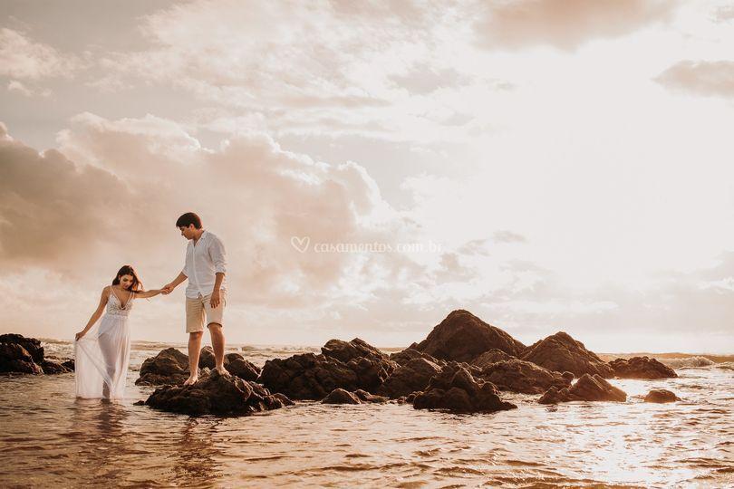 Pre Wedding na Praia