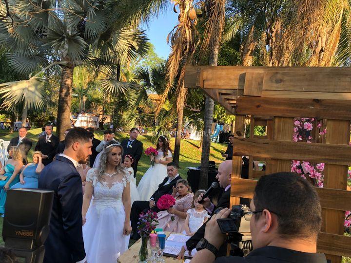 Casamento em Chacara