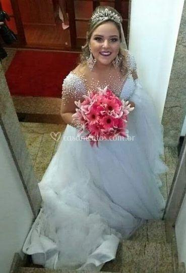 Noiva Flor de Menina