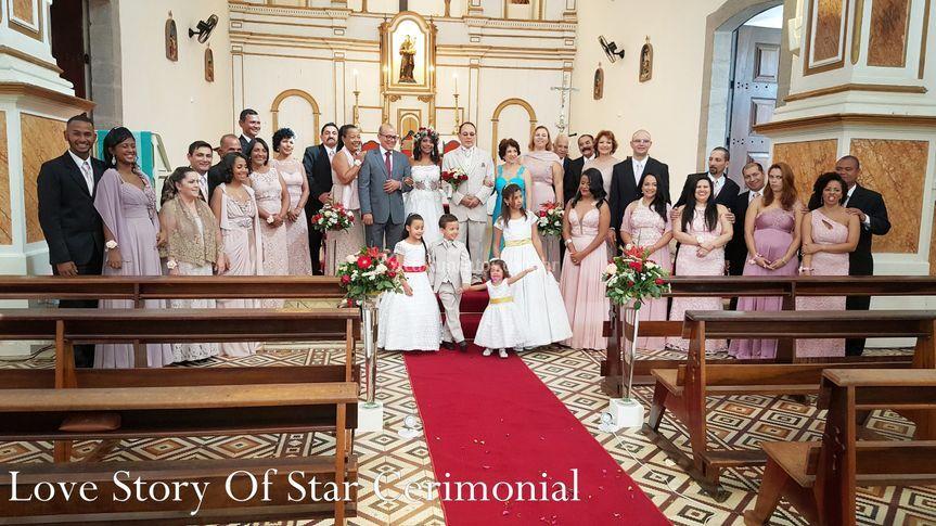 Love story of star cerimonial