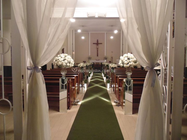 Corredor de igreja