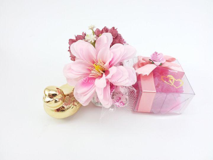 Kit Floral rosa
