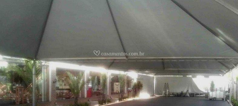 Tenda 10x10 com piso