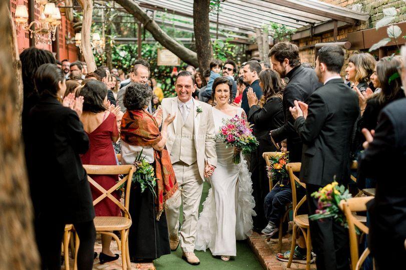 Entrada dos noivos | Espaço Qu
