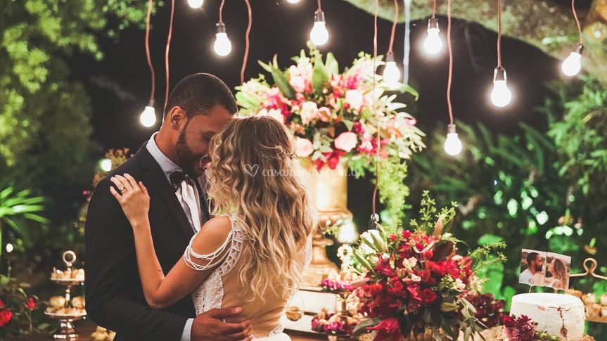 Recepção dos noivos