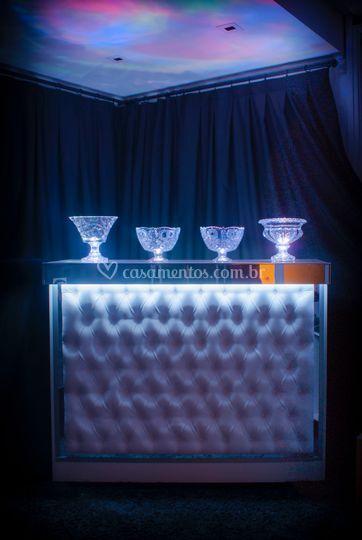 Bar Capitonê Branco